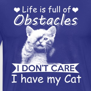Life is full of Obstacles - Men's Premium T-Shirt