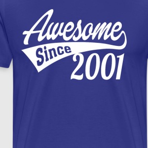 Awesome Since 2001 - Men's Premium T-Shirt