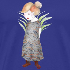 Miss Samurai børn illustration - Herre premium T-shirt