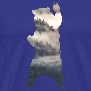 Bear Forest Mist - Men's Premium T-Shirt
