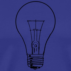 light bulb - Men's Premium T-Shirt