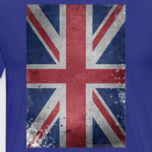 gb-drapeau britannique Union Jack English détruit UK - T-shirt Premium Homme