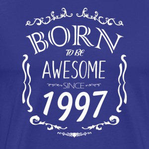 Born to be Awesome since 1997 - Men's Premium T-Shirt