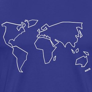 Geometric World simple - Men's Premium T-Shirt