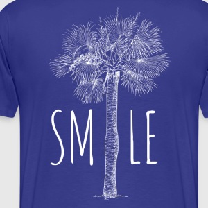 SMILE palm beach - Premium-T-shirt herr