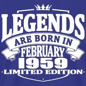 Legends are born in february 1959
