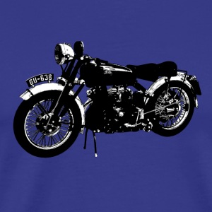 Classic motor bike Black Shadow