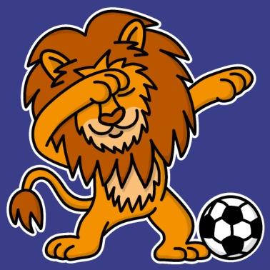 a2c78ae9c1000 Dab Dabbing Lion Football Anglais Angleterre 3 Lions - T-shirt premium Homme