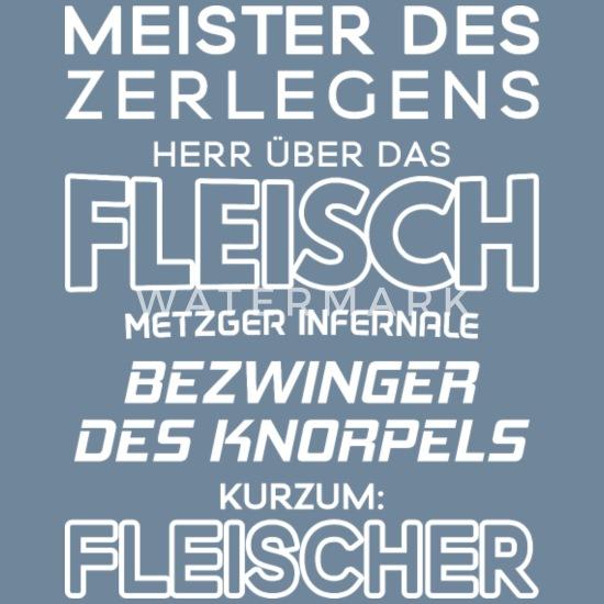 METZGER T-Shirt EHRE STOLZ NARBEN BLUT Fleischer Schlachter Zunft Wappen Zeichen