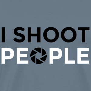 I shoot people - Mannen Premium T-shirt