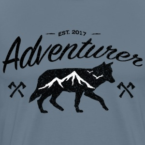 Adventurer Original - Premium-T-shirt herr