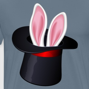rabbit has - Men's Premium T-Shirt