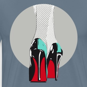 high heels absatz manolos pop sexy Model laufsteg - Männer Premium T-Shirt