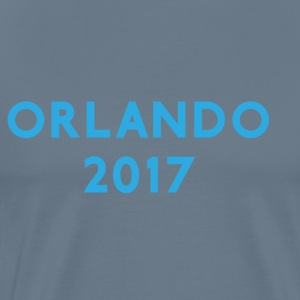 ORLANDO 2017 VACATION TEE - Premium T-skjorte for menn