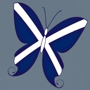 Scottish Butterfly - Men's Premium T-Shirt