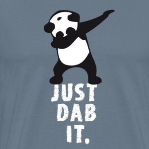 dab just dab it panda dabbing touchdown superbowl - Männer Premium T-Shirt