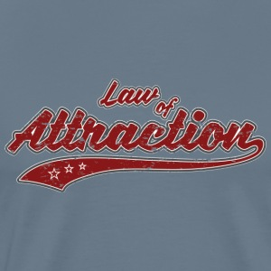 Law of Attraction Vintage - Premium T-skjorte for menn