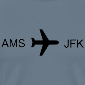 Flying to New York! - Men's Premium T-Shirt