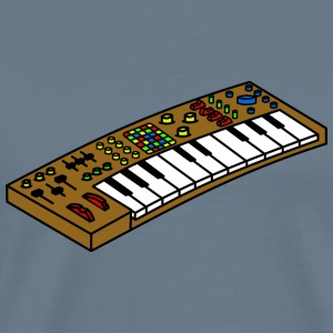 synthesizer - Premium T-skjorte for menn