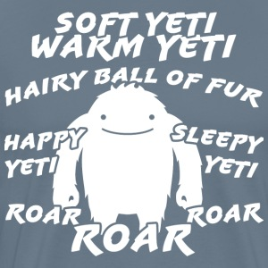 Soft yeti, yeti warm - Men's Premium T-Shirt