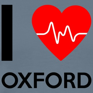 I Love Oxford - I love Oxford - Men's Premium T-Shirt