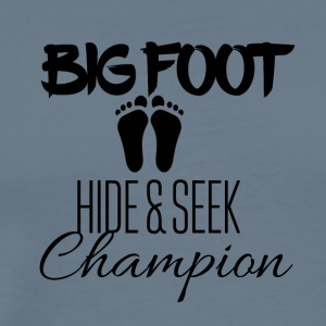 Big Foot Nascondino Champion - Maglietta Premium da uomo