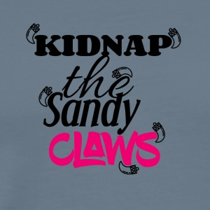 Kidnap the sandy claws - Men's Premium T-Shirt