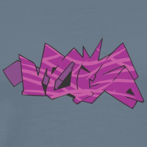 Moise graffiti - Premium T-skjorte for menn