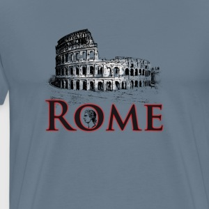Rome italy holiday Colosseum caesar antique travel gif - Men's Premium T-Shirt