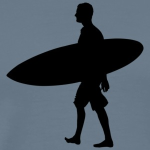 Man Surf Board - Männer Premium T-Shirt