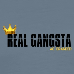 Real Gangsta AC BRANDED - Men's Premium T-Shirt