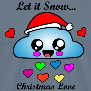 Cloud Christmas Love Snow Idea regalo Natale