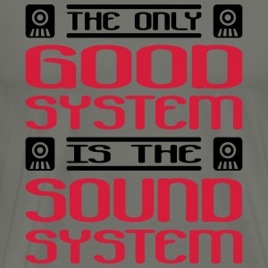 the only good system is the soundsystem - Männer Premium T-Shirt