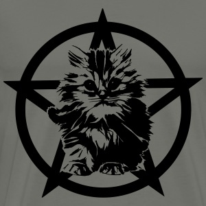 Satanic Kitten - Men's Premium T-Shirt