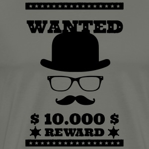 Wanted Dead or Alive - Mannen Premium T-shirt