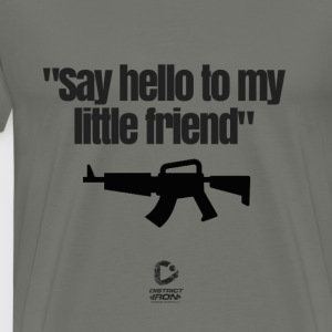 My little friend SCARFACE - Men's Premium T-Shirt