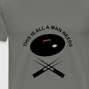 Grillsession for men - Männer Premium T-Shirt
