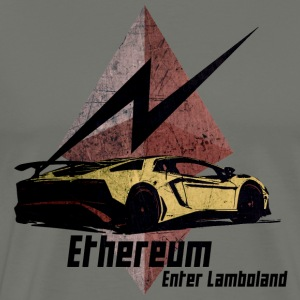 Ethereum Enter Lamboland - Men's Premium T-Shirt