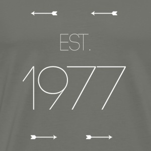 EST 1977 - Men's Premium T-Shirt