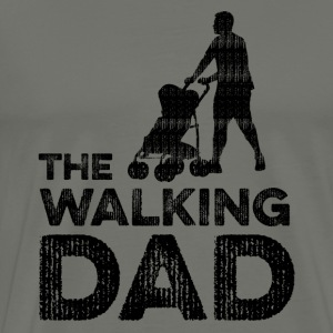 The Walking Dad - Premium T-skjorte for menn