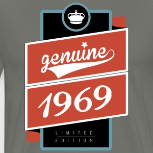 ekte limited edition 1969 - Premium T-skjorte for menn