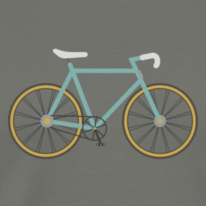 Strada / Single Speed ​​Bike / - Maglietta Premium da uomo