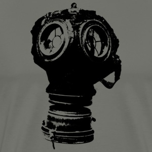 gas-mask2 - Herre premium T-shirt