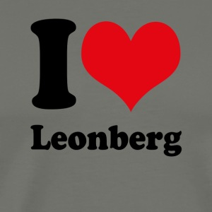 I love Leonberg - Men's Premium T-Shirt