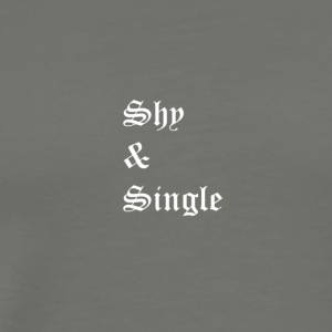 Shy and Single - Men's Premium T-Shirt
