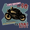Life begins at 50 - Men's Premium T-Shirt