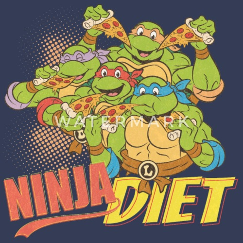 Tmnt Turtles Ninja Diet Pizza Männer Premium T Shirt Spreadshirt