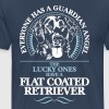 GUARDIAN ANGEL FLAT COATED RETRIEVER - Men's Premium T-Shirt