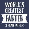 World's Greatest Farter (I Mean Father) - Mannen Premium T-shirt