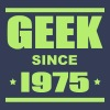 Geek since 1975 - Premium T-skjorte for menn
